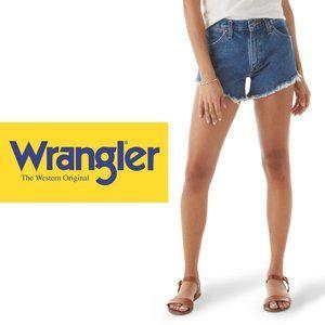 Wrangler Stretch Denim Cutoffs - Size 16